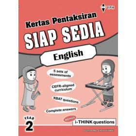 Tahun 2 Kertas Pentaksiran Siap Sedia English