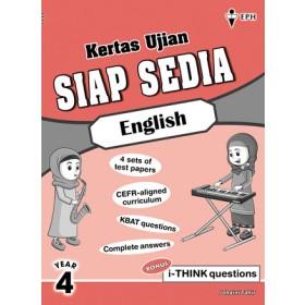 Tahun 4 Kertas Ujian Siap Sedia English