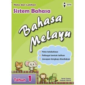 Tahun 1 Nota & Latihan Sistem Bahasa Bahasa Melayu