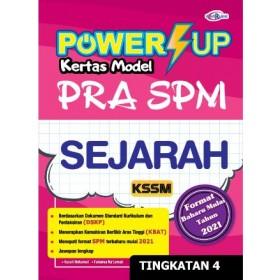 TINGKATAN 4 POWER UP KERTAS MODEL PRA SPM SEJARAH