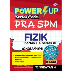 TINGKATAN 4 POWER UP KERTAS MODEL PRA SPM FIZIK