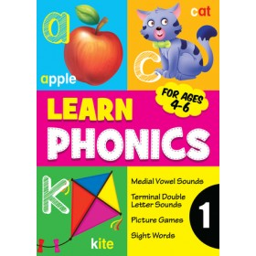 LEARN PHONICS BOOK 1(AGES 4-6)