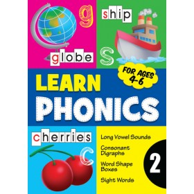 LEARN PHONICS BOOK 2(AGES 4-6)