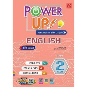 TINGKATAN 2 POWER UP ENGLISH