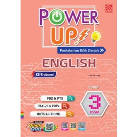 TINGKATAN 3 POWER UP ENGLISH