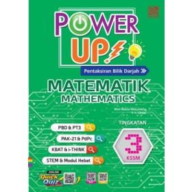 TINGKATAN 3 POWER UP MATEMATIK