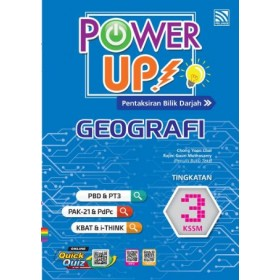 TINGKATAN 3 POWER UP GEOGRAFI