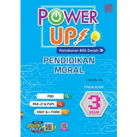 TINGKATAN 3 POWER UP PENDIDIKAN MORAL