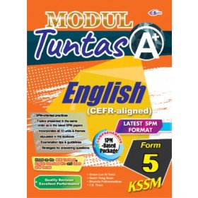 TINGKATAN 5 MODUL TUNTAS A+ ENGLISH