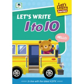 LET'S LEARN SERIES:LET'S WRITE 1 TO 10