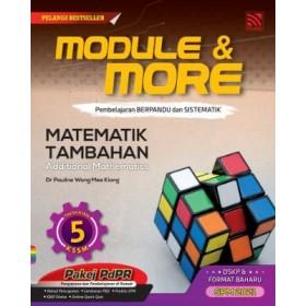 TINGKATAN 5 MODULE & MORE MATEMATIK TAMBAHAN