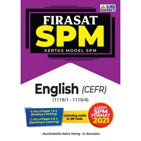 FIRASAT SPM KERTAS MODEL SPM ENGLISH