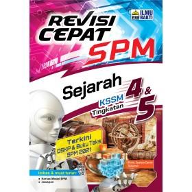 REVISI CEPAT SPM SEJARAH