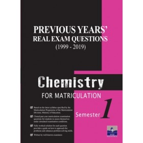 Semester 1 Previous Years Real Exam Questions Chemistry For Matriculation