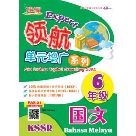 六年级 领航单元增广系列 国文 <Primary 6 Expert Siri Praktis Topikal Cemerlang Bahasa Melayu>