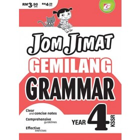 Tahun 4 Jom Jimat Gemilang Grammar SK