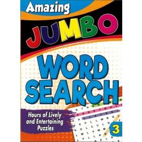 AMAZING JUMBO WORDSEARCH 3 (NEW)