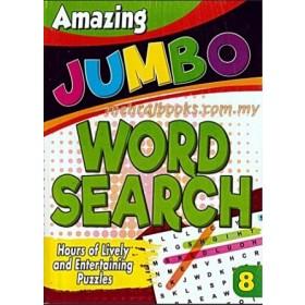 AMAZING JUMBO WORDSEARCH 8 (NEW)