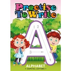 PRACTISE TO WRITE:ALP CAP LET '19