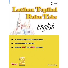 Primary 2 Latihan Topikal Buku Teks English