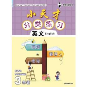 三年级小天才 分类练习英文 <Primary 3 Latihan Elemen Genius English>