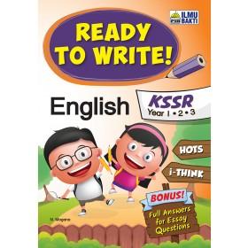 Tahun 1,2 & 3 Ready to Write! English