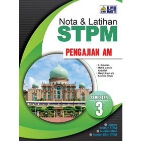 Semester 3 Nota dan Latihan STPM Pengajian Am