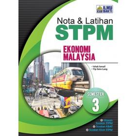 Semester 3 Nota dan Latihan STPM Ekonomi Malaysia