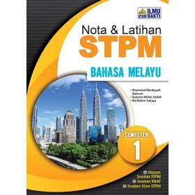 Semester 1 Nota dan Latihan STPM Bahasa Melayu