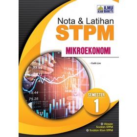 Semester 1 Nota dan Latihan STPM Mikroekonomi