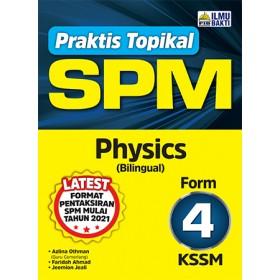 TINGKATAN 4 PRAKTIS TOPIKAL SPM PHYSICS (BILINGUAL)