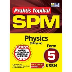 TINGKATAN 5 PRAKTIS TOPIKAL SPM PHYSICS(BILINGUAL)
