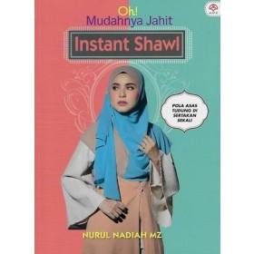 OH! MUDAHNYA JAHIT INSTANT SHAWL
