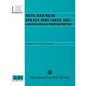 AKTA HAKMILIK STRATA 1985 (AKTA 318)