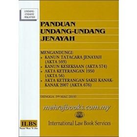 PANDUAN UNDANG UNDANG JENAYAH