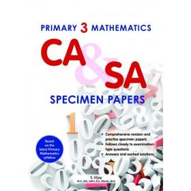 Primary 3 Mathematics CA & SA Specimen Papers