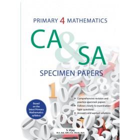 Primary 4 Mathematics CA & SA Specimen Papers