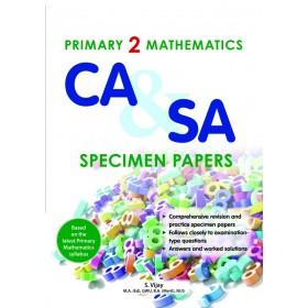Primary 2 Mathematics CA & SA Specimen Papers