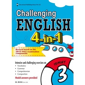 Primary 3 Challenging English 4-In-1