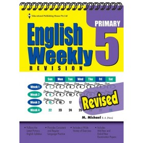 Primary 5 English Weekly Revision Revised Edition