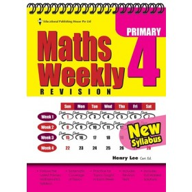 Primary 4 Maths Weekly Revision (New Syllabus)