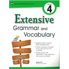 Primary 4 Extensive Grammar and Vocabulary
