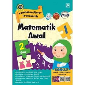 PRASEKOLAH LEMBARAN PINTAR MATEMATIK AWAL 1