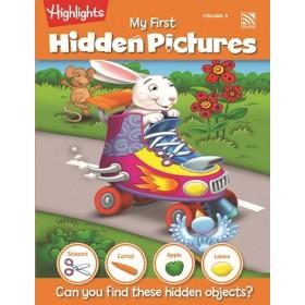 HIGHLIGHTS MY FIRST HIDDEN PICTURE VOLUME 3