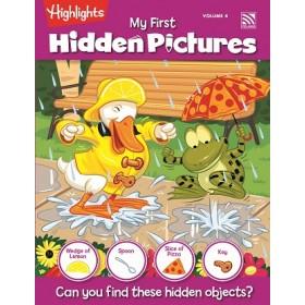 HIGHLIGHTS MY FIRST HIDDEN PICTURE VOLUME 4