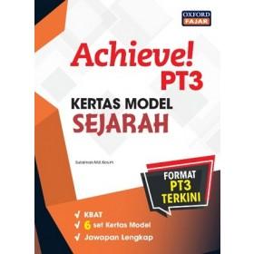 ACHIEVE! KERTAS MODEL PT3 SEJARAH