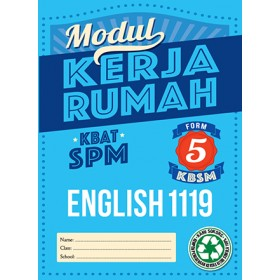 Tingkatan 5 Model Kerja Rumah English