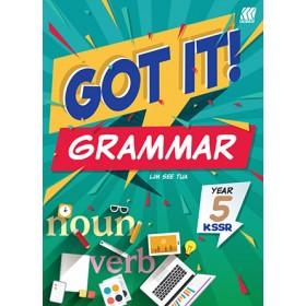 Tahun 5 GOT IT! Grammar KSSR