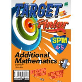 SPM Target Pintar Additional Mathematics (English)