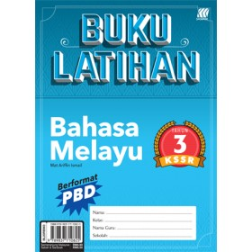 Tahun 3 Buku Latihan KSSR Bahasa Melayu